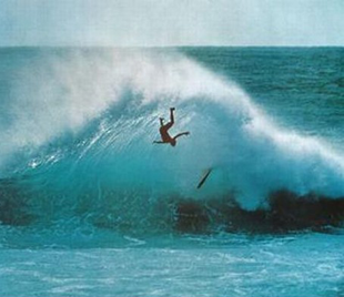 Surfer-wipeout
